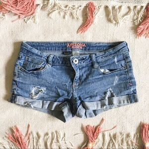 Lightly Loved ✨ Arizona Jean Distressed Shorts